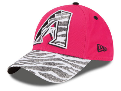 Arizona Diamondbacks New Era MLB Youth Wild Glitter 9FORTY Cap