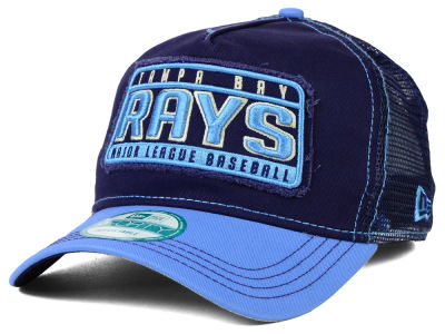 Tampa Bay Rays New Era MLB Trip Trucker 9FORTY Cap