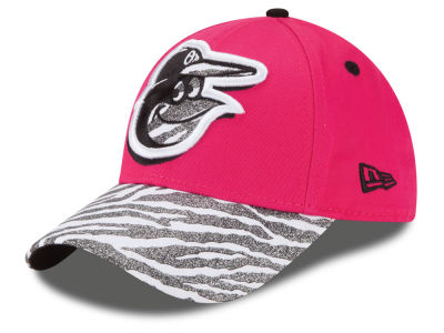 Baltimore Orioles New Era MLB Youth Wild Glitter 9FORTY Cap