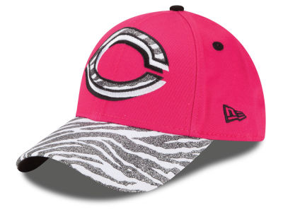 Cincinnati Reds New Era MLB Youth Wild Glitter 9FORTY Cap