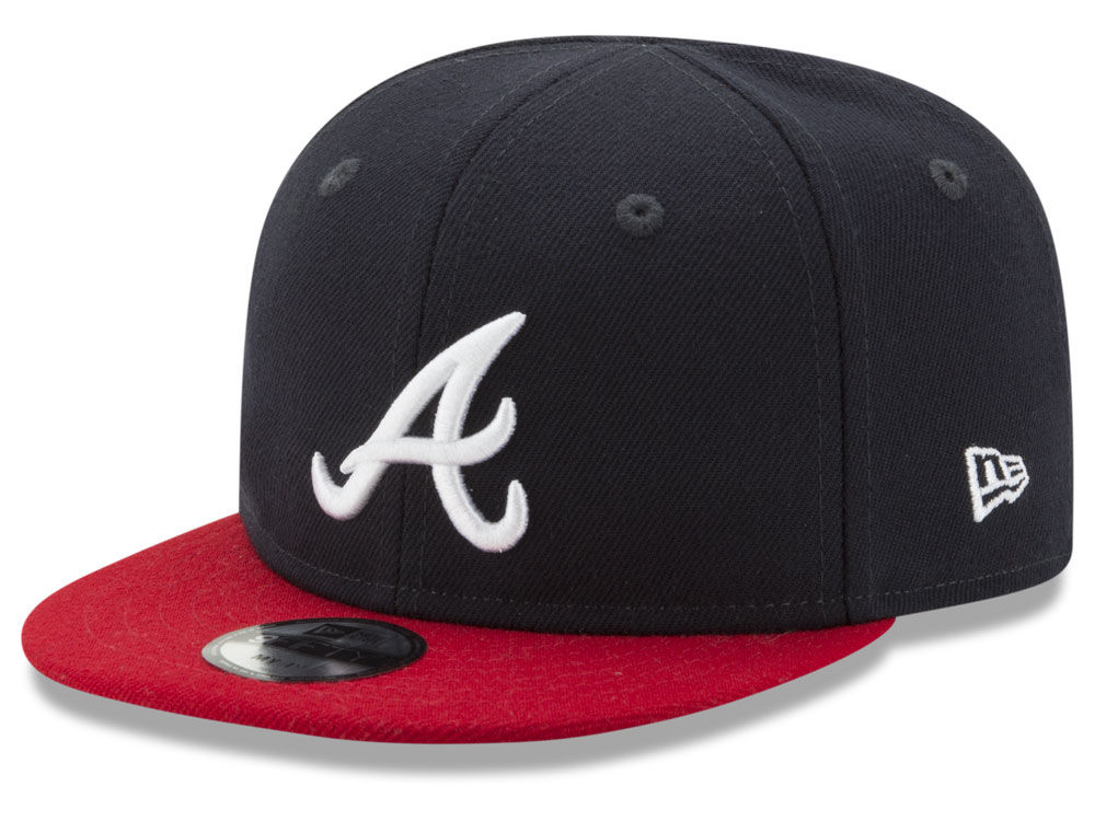ed187ce3ce1 Atlanta Braves New Era MLB Infant My 1st 9FIFTY Snapback Cap