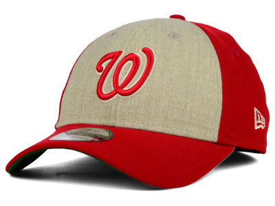 Washington Nationals New Era MLB Classic Front 39THIRTY Cap