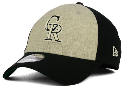 Colorado Rockies New Era MLB Classic Front 39THIRTY Cap