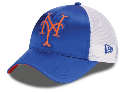 New York Mets New Era MLB Women's Satin 9FORTY Cap
