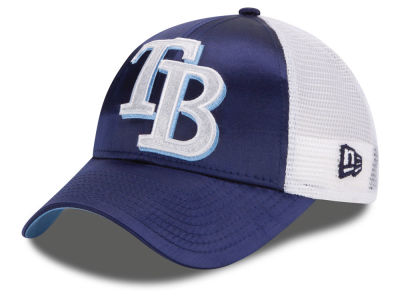 Tampa Bay Rays New Era MLB Women's Satin 9FORTY Cap