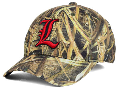 Louisville Cardinals Top of the World NCAA Blades Camo Flex Hat