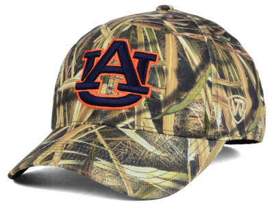 Auburn Tigers Top of the World NCAA Blades Camo Flex Hat
