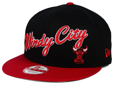 Chicago Bulls New Era NBA HWC Nickname 9FIFTY Snapback Cap
