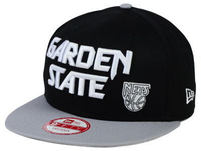 New Jersey Nets New Era NBA HWC Nickname 9FIFTY Snapback Cap