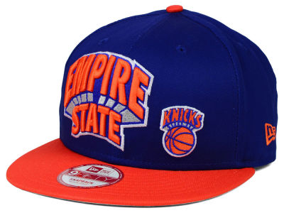 New York Knicks New Era NBA HWC Nickname 9FIFTY Snapback Cap