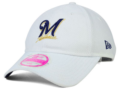 Milwaukee Brewers New Era MLB Women's Tech 9TWENTY Cap