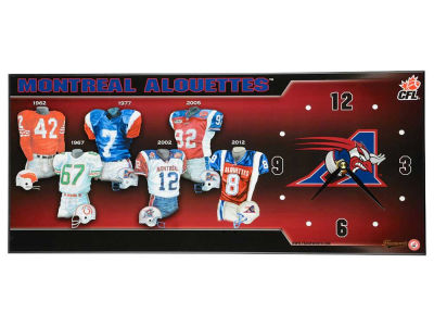 Montreal Alouettes Evolution Clock