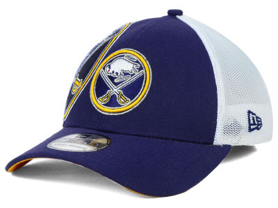 Buffalo Sabres New Era NHL Double Mesh Flex 39THIRTY Cap