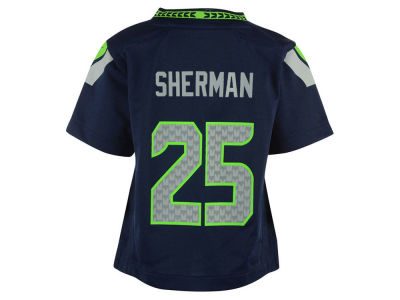 Seattle Seahawks Richard Sherman Nike NFL Toddler Game Jersey