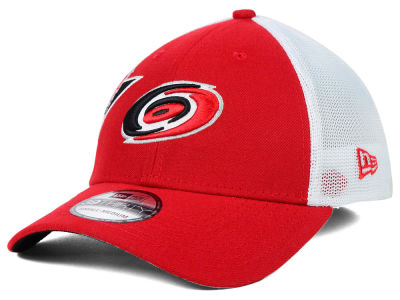 Carolina Hurricanes New Era NHL Double Mesh Flex 39THIRTY Cap