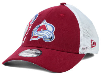 Colorado Avalanche New Era NHL Double Mesh Flex 39THIRTY Cap