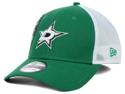 Dallas Stars New Era NHL Double Mesh Flex 39THIRTY Cap