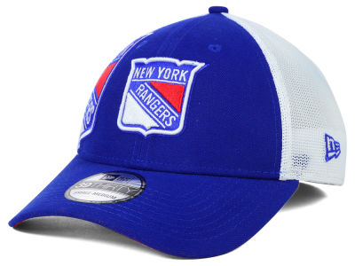 New York Rangers New Era NHL Double Mesh Flex 39THIRTY Cap