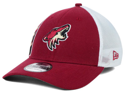 Arizona Coyotes New Era NHL Double Mesh Flex 39THIRTY Cap