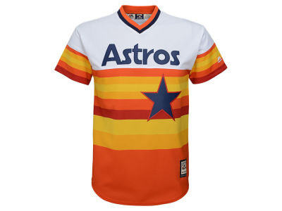 Houston Astros Majestic MLB Youth Cooperstown Jersey