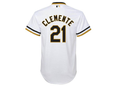 Pittsburgh Pirates Roberto Clemente MLB Youth Cooperstown Jersey