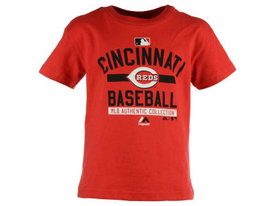 Cincinnati Reds Outerstuff MLB Kids Team On-Field Team Property T-Shirt