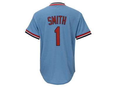 St. Louis Cardinals Ozzie Smith Majestic MLB Youth Cooperstown Player Jersey