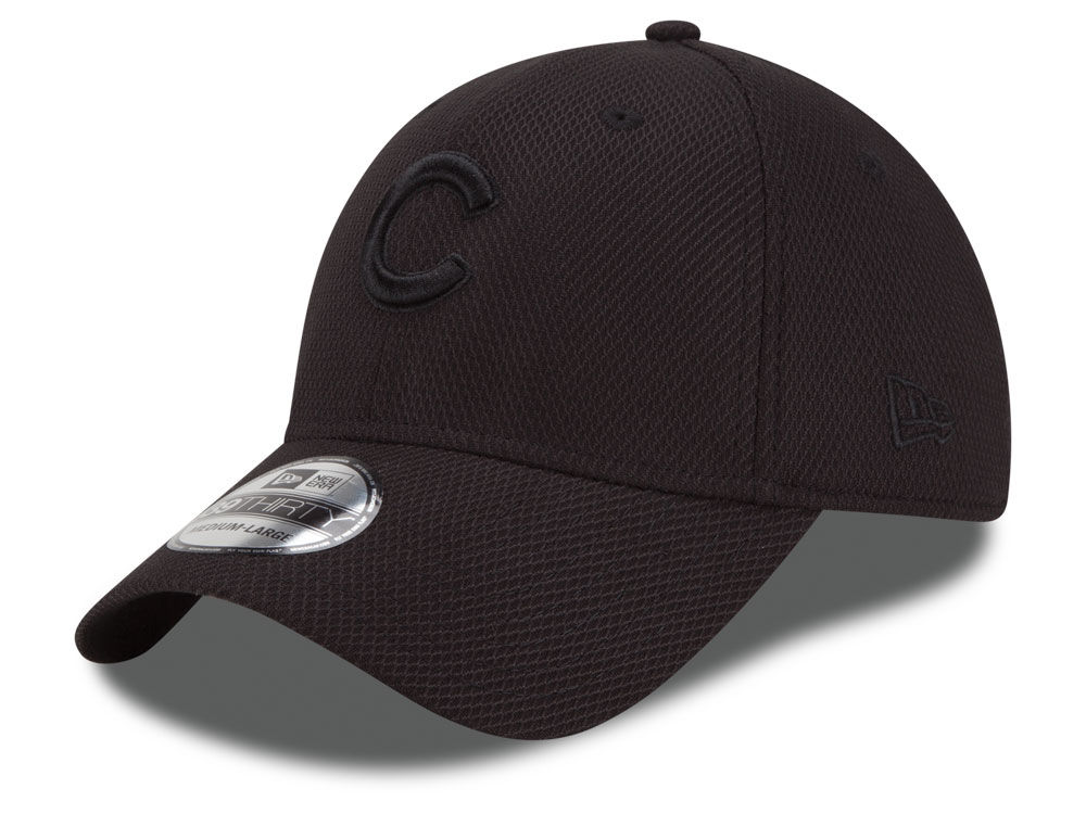 huge selection of 3a388 7ef41 order chicago cubs new era mlb black diamond era 39thirty cap 7416f cab7d
