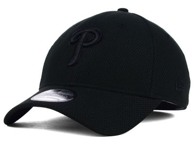 Philadelphia Phillies New Era MLB Black Diamond Era 39THIRTY Cap