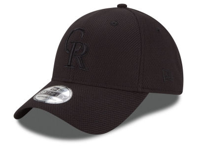 Colorado Rockies New Era MLB Black Diamond Era 39THIRTY Cap