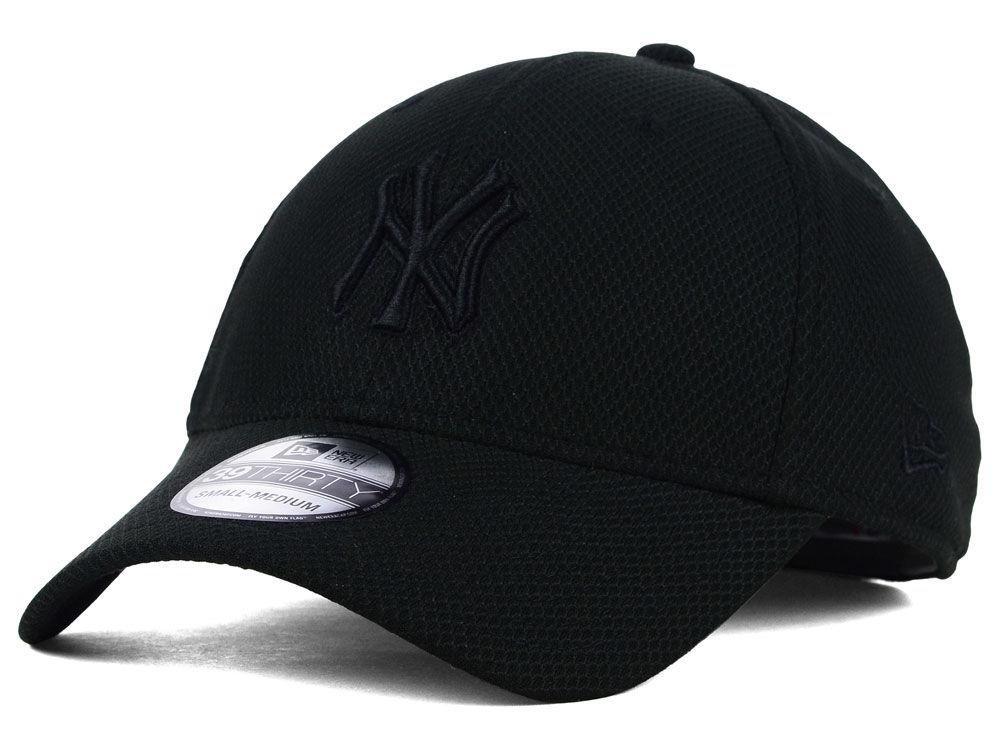 New York Yankees New Era MLB Black Diamond Era 39THIRTY Cap  14d64a33d09