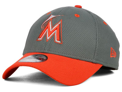 Miami Marlins New Era MLB Team Addict 39THIRTY Cap