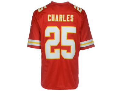 Kansas City Chiefs Jamaal Charles Nike NFL CN Game Jersey