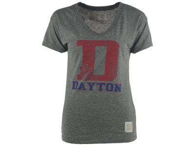 Dayton Flyers NCAA Womens Boyfriend V-Neck