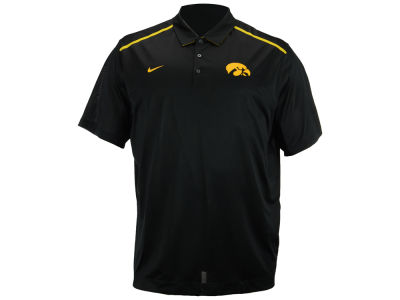 Iowa Hawkeyes Nike NCAA Mens Elite Coaches Polo Shirt