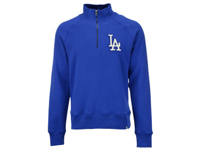 Los Angeles Dodgers MLB Men's X-Check 1/4 Zip Up Pullover Shirt