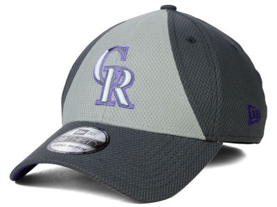 Colorado Rockies New Era MLB Diamond Era Double Play 39THIRTY Cap