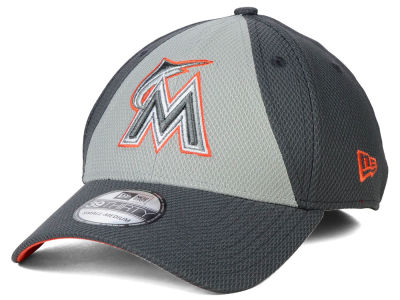 Miami Marlins New Era MLB Diamond Era Double Play 39THIRTY Cap