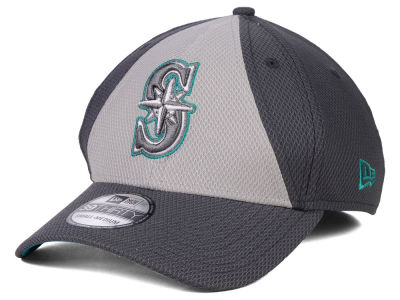 Seattle Mariners New Era MLB Diamond Era Double Play 39THIRTY Cap