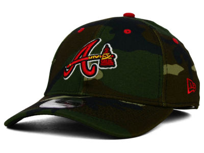 Atlanta Braves New Era MLB Camo Classic 39THIRTY Cap