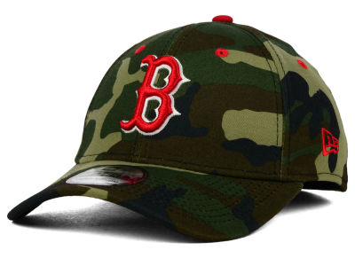 Boston Red Sox New Era MLB Camo Classic 39THIRTY Cap
