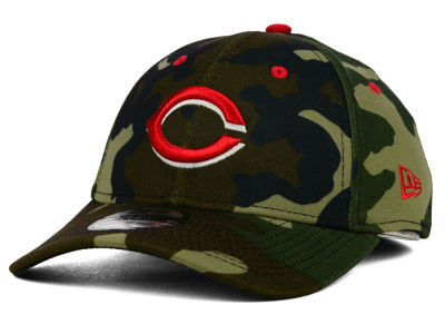 Cincinnati Reds New Era MLB Camo Classic 39THIRTY Cap