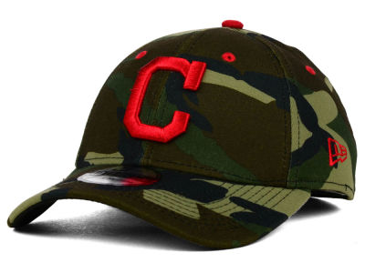 Cleveland Indians New Era MLB Camo Classic 39THIRTY Cap