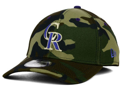 Colorado Rockies New Era MLB Camo Classic 39THIRTY Cap