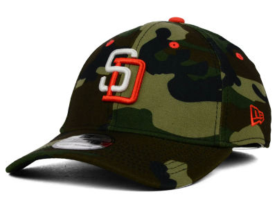 San Diego Padres New Era MLB Camo Classic 39THIRTY Cap