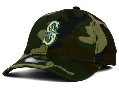 Seattle Mariners New Era MLB Camo Classic 39THIRTY Cap