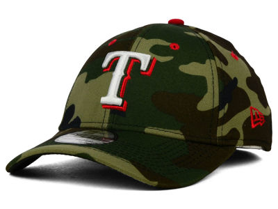Texas Rangers New Era MLB Camo Classic 39THIRTY Cap