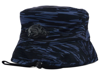 Arkansas Razorbacks Top of the World NCAA Cloak Bucket Hat