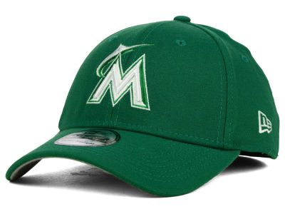 Miami Marlins New Era MLB St. Patty Classic 39THIRTY Cap