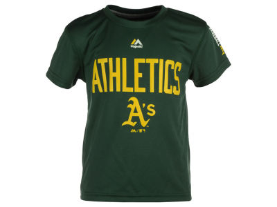 Oakland Athletics MLB Youth Cool Base T-Shirt